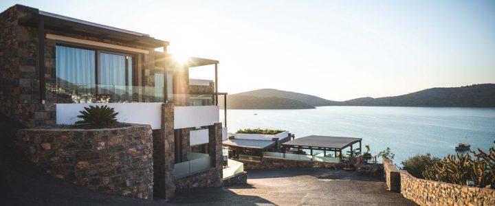 luxury home on coast